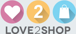 Love 2 Shop logo