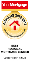Your mortgage award - best mortgage lender 2016-2017