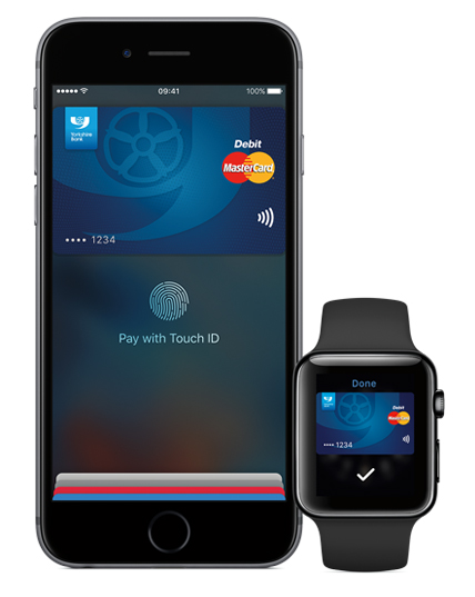Yorkshire Bank Apple Pay