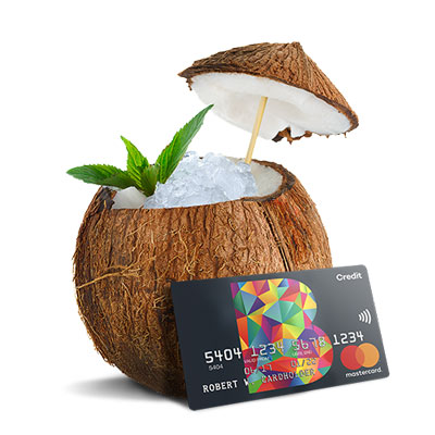 Coconut with B Credit Card