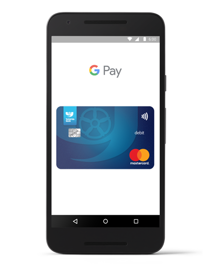 Yorkshire Bank Google Pay