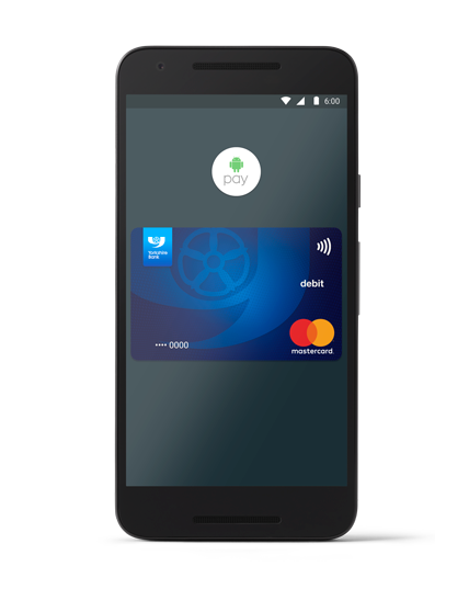 Yorkshire Bank Android Pay