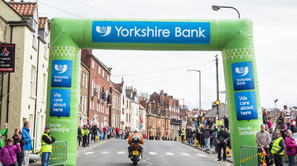 Finnish Line at Tour De Yorkshire race